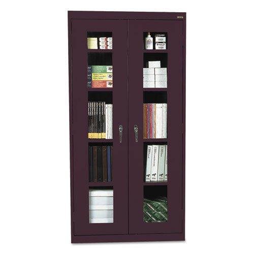 (Sandusky Lee EA4V362478-03 Elite Series Clear View Storage Cabinet, 24