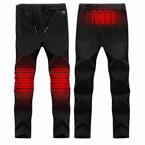 GAOQQ Pantalones Eléctricos De Calefacción Inteligentes, Protección De Invierno Rodilla Termostato De Carga USB…