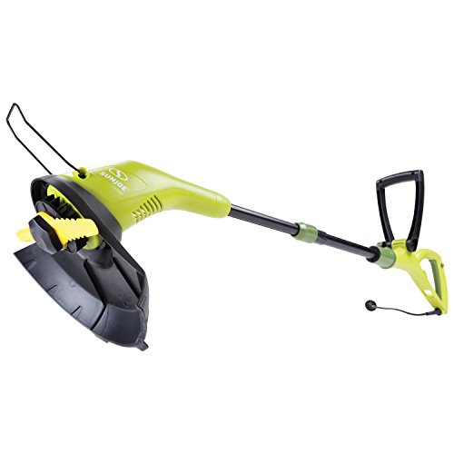 Sun Joe SB602E 11.5-Inch 4.5 Amp Electric SharperBlade 2-in-1 Stringless Lawn Trimmer, Green