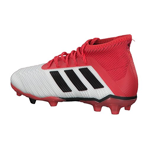 Chaussures junior adidas Predator 18.1 FG Blanco (Ftwbla / Negbas / Correa 000)