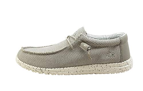 Hey Dude Men's Wally Sox Ash, Size 8 (Footwear Ash Grey)