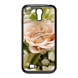 3D Okaycosama Funny Samsung Galaxy S4 Case Flower 336 Protector for Girls, Case for Samsung Galaxy S4 Mini, [Black]