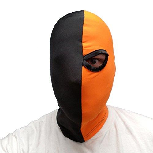 Deathstroke Mask Arrow One Eye One-Eyed Mask Batman Costume Cosplay -