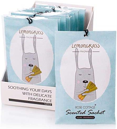 12Packs Lemongrass Freshener Deodorizer Optional ROSE product image