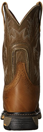Ariat WorkHog Pull-On Hommes Marron Chaussures Bottes 42,5 EU Neuf