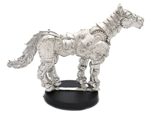 Stonehaven Clockwork Horse Miniature Figure (for 28mm Scale Table Top War Games) - Made in US