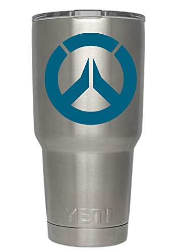 Overwatch Decals For Yeti Cups Teal Tumbler Not Included Sticker For Tumbler Decals For Tumblers Cup Decals Mug Decals Car Sticker Car