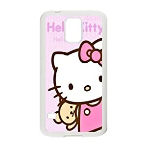 DIY Printed Hello kitty hard plastic case skin cover For Samsung Galaxy S5 SNQ232889