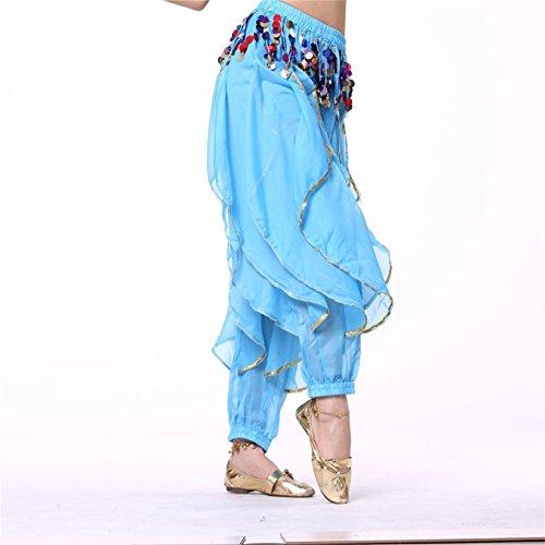 Pealiker - Pantalón - para mujer azul claro