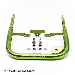 Kawasaki KFX 450R (all years) Rear Grab Bar Bumper (Green)