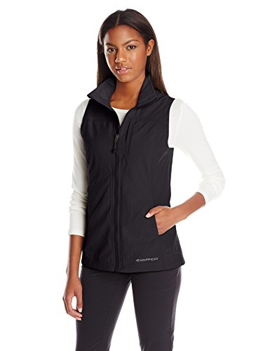 ExOfficio Women's Flyq Lite Vest, Black, Medium