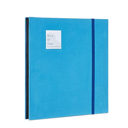 - DansonUS Scrapbook Velvet Cover Photo Album 40 Thick Pages with Protective Film Save Images Permanently, DIY Memory Book, Perfect Album for Anniverseries, Birthdays, Weddings and Travelling(BlueL)