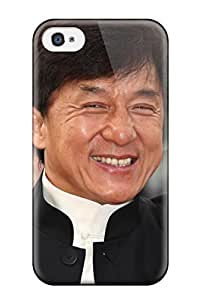Slim Fit Tpu Protector Shock Absorbent Bumper Jackie Chan Case For Iphone 4/4s