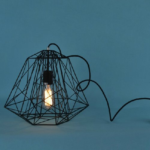 LightInTheBox Hive Pendant,1 Light, Creative Black Iron Painting, Modern Home Ceiling Light Fixture Flush Mount, Pendant Light Chandeliers Lighting, Voltage=110-120V