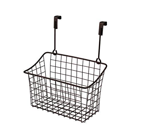 Spectrum Diversified Grid Storage Basket, Over the Cabinet, Medium, Bronze