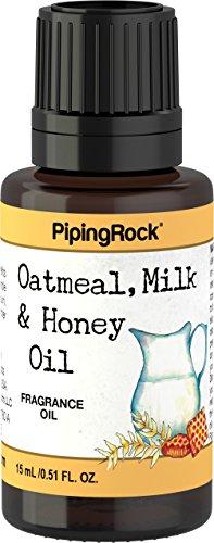 Piping Rock Oatmeal Milk & Honey Fragrance Oil 1/2 oz (15mL) Dropper Bottle (Oatmeal Fragrance)