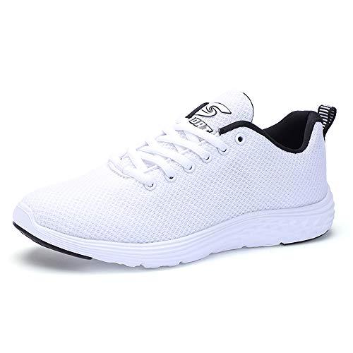 Sneakers White Athlétique Fitness Basket Tennis Sport 078 Femme Running Respirantes Courtes Chaussures Homme De w7FBx1qA8