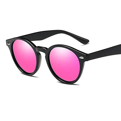 de Ronda en retro sol Coolsir las gafas 5 Gafas conducción Hombres de Marco PC UV400 lentes Mujeres unisex protección de forma polarizadas de SqxId
