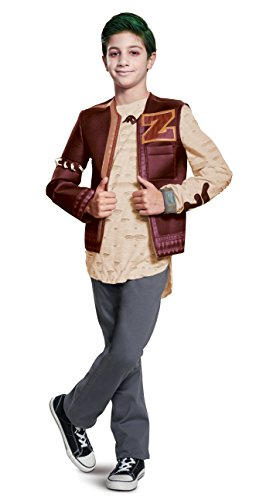 Disguise Zed Zombie Deluxe Child Costume, Red,