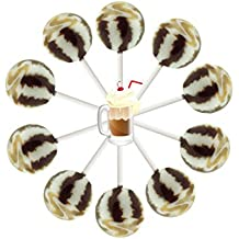 10ct. Root Beer Float Cream Swirl Lollipop Bag (Root Beer Float)