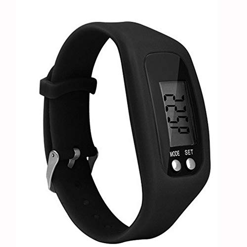 Sport Bracelet Pedometer, Multifunction Smart Bracelet Pedometer Activity Tracker 5 Digit LED Display Outdoor Sport Wristband Health Watch for - English Pedometer