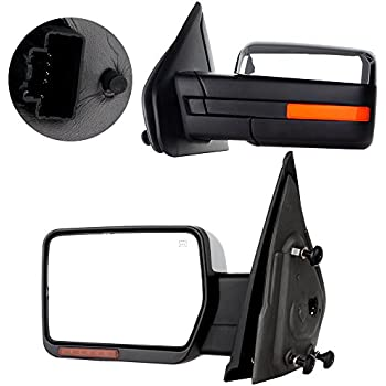 Fits  97-03 F150 97-99 F250 F350 97-02 Navigator Expedition Right Pass Mirror Gl