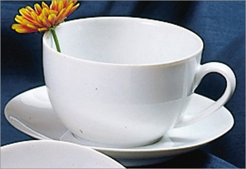 Ten Strawberry Street Classic Coupe Shape - Cup And Saucer - Set Of 6