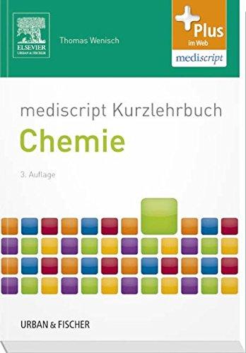 mediscript Kurzlehrbuch Chemie (Kurzlehrbücher)