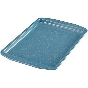 Paula Deen 46249 Speckle Nonstick Bakeware, Nonstick Cookie Sheet / Baking Sheet - 10 Inch x 15 Inch, Gulf Blue Speckle