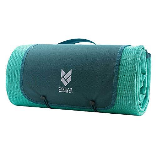 86c09c0719 CGEAR Sandlite – Patented Sand-Free Beach Mat – Multi Use Outdoor Camping  Mat