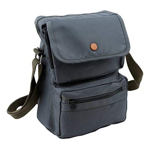 Verde vintage viaggio Colore donna tracolla borsa Moontang a gril o Borsa grigia Deepblue a Dimensione da da spalla 6R76XTx