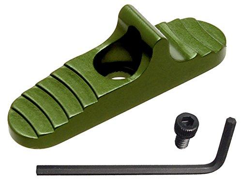 Green Shockwave - for Mossberg 500 590 835 930 935 Shockwave Enhanced Tactical Slide Safety by NDZ Green