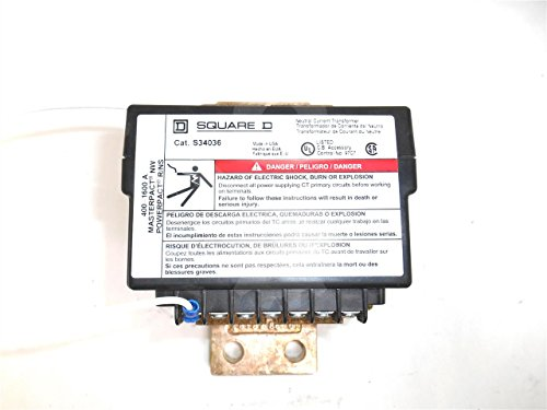 S34036 - 400-1600A NEUTRAL CURRENT TRANSFORMER, MICROLOGIC by Square D