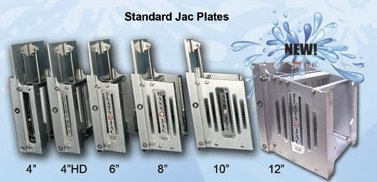 MAXJACK JACK PLATE WITH 10IN SET BACK HYDRAULIC LIFT PLATE