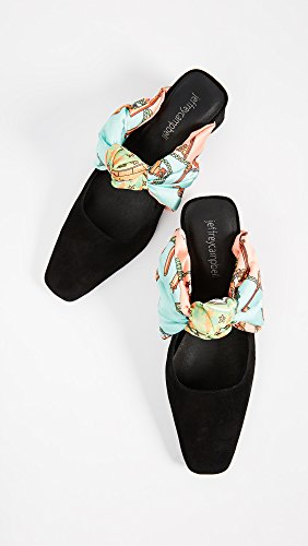 Jeffrey Campbell Womens Jenae Mules Black ZBXS6eAIhR
