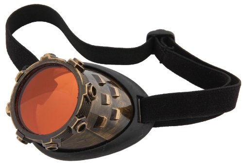 CyberSteam Steampunk Eyepatch Goggle by elope (Creative Funny Costume Ideas)