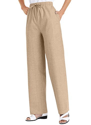 Drawstring Cotton Pants - 4