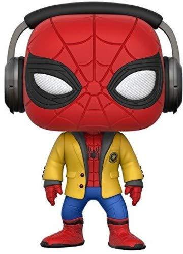Funko Pop! Movies: Spider-Man HC - Spider-Man W/Headphones Collectible Vinyl Figure -
