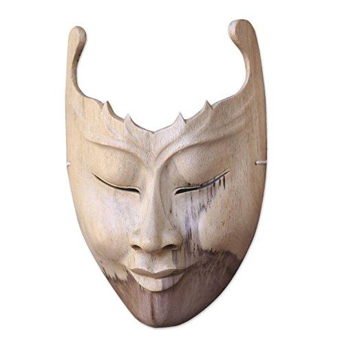 "NOVICA 62561"" Cutout Wood Mask"