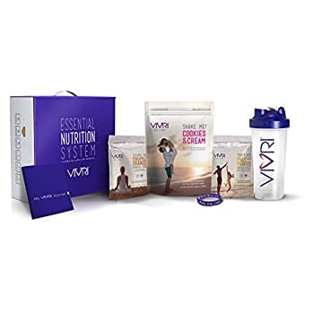 Image of Health and Household 10 Day Challenge by Vivri   Essential Nutrition System: Cookies & Cream Shake   Power Me Orange Mango   Cleanse Me Pineapple Orange