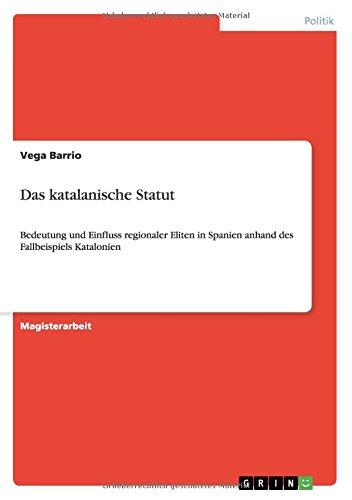 Download Das katalanische Statut (German Edition) pdf