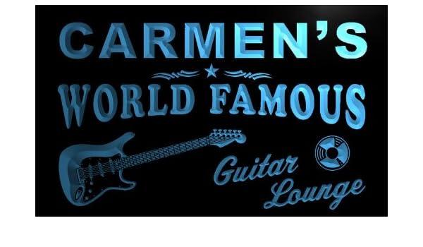 pf638-b Carmen de guitarra salón sala de cerveza Bar Pub luz de ...
