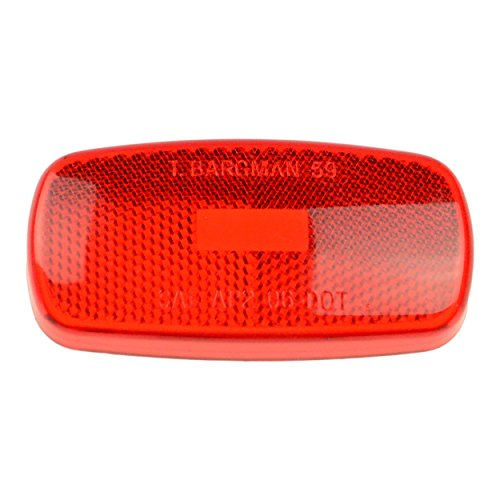 Bargman 30-59-010 Lens for Clearance Light - Red