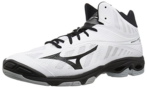 Image of Mizuno Men's Wave Lightning Z4 Mid Volleyball Shoes