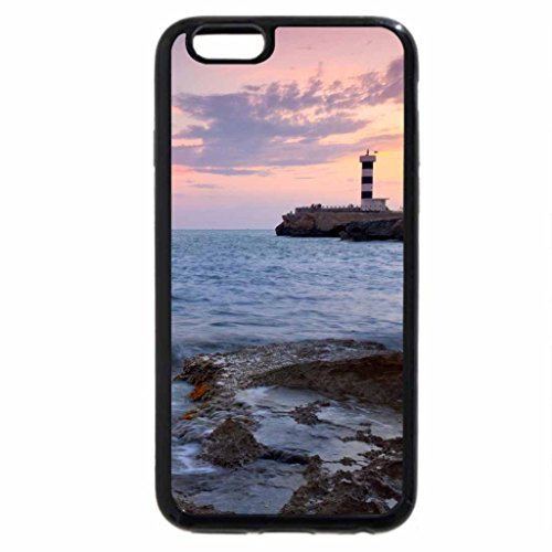 iPhone 6S / iPhone 6 Case (Black) Beautiful lighthouse