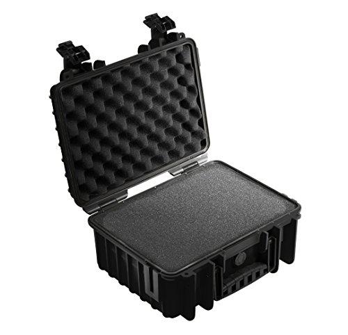 B&W Outdoor Cases Typ 3000 SI (Schaumstoffeinsatz) schwarz