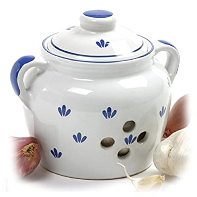 Norpro 5-Inch Ceramic Garlic Keeper