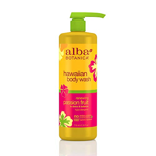 Alba Botanica Renewing Passion Fruit Hawaiian Body Wash, 24 oz.