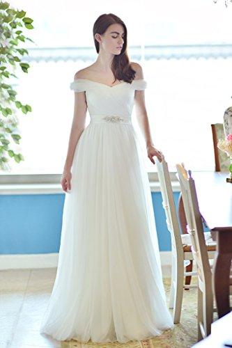 Mujer Para Trapecio Vestido Vimans Blanco 0AZqPgnwxw
