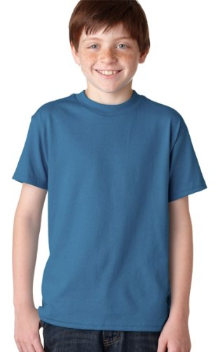 Blau Hanes EcoSmart denim Tee Youth bautzen rIYxqzr in tack.gastmahl bautzen Youth  d33083